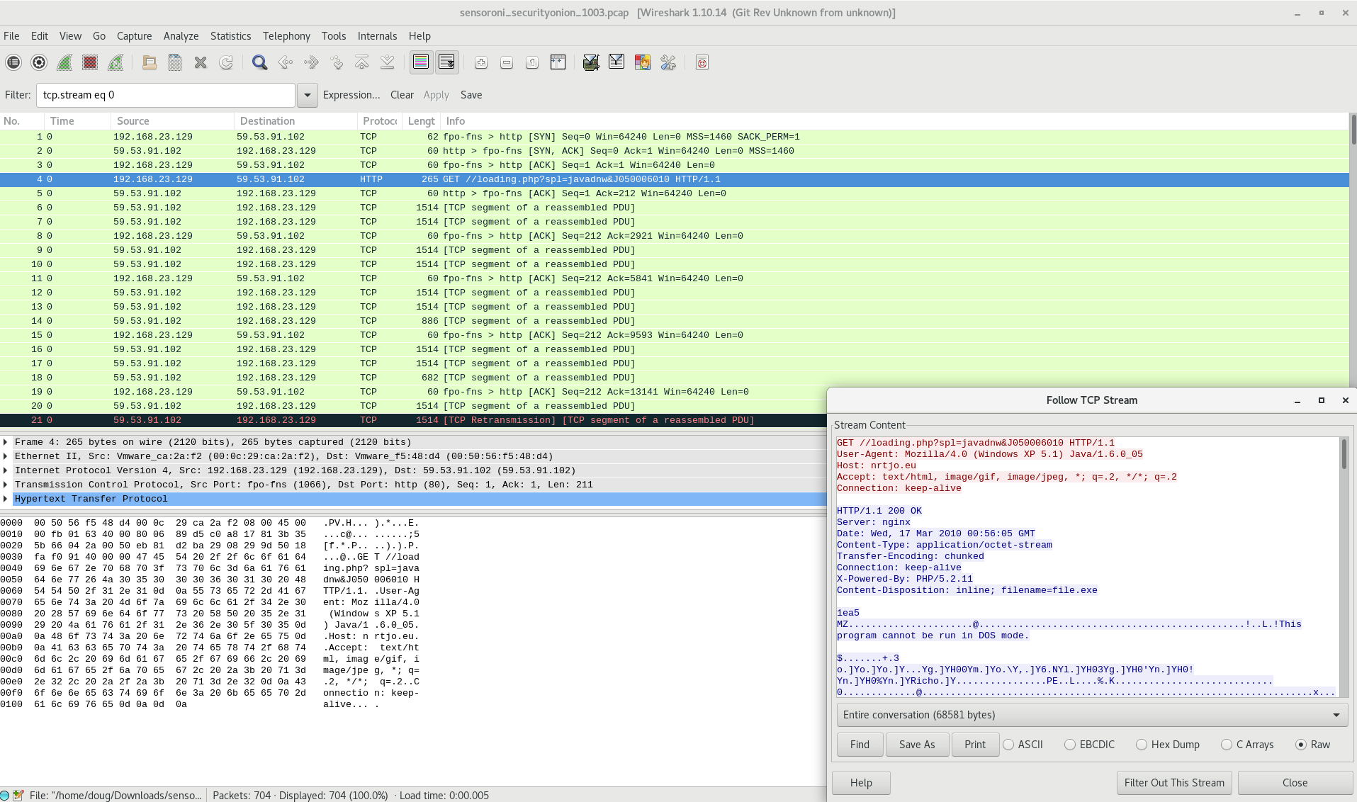 Wireshark — Security Onion 16 04 6 2 documentation